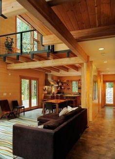 Modern Mountain House Sustainable Construction Stylish Design - ArchInspire