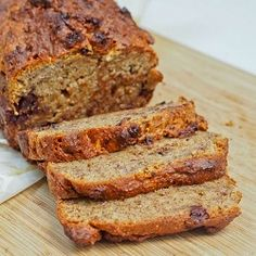 One Bowl Vegan Gluten-Free Banana Bread with Dark Chocolate Chips