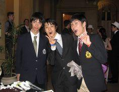 """yeskei:  """"yuzufever:  """"Yuzuru, Ryuju Hino, Keiji Tanaka  """"  so…precious!!!  """""""