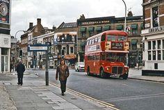 Fulham Broadway, 1977.