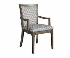 """The Improv in G """"Check It Out"""" armchair from Somerton Dwelling is perfect is a perfect addition to your dinning room furniture when hosting a dinner party."""