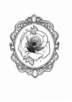 Miss Juliet...Tattoo,Draw and Life: Rose Tattoo (Giulia Frederica, Parma)-although I love this, I think I would change it to an orchid