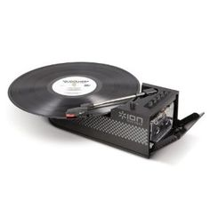 Ion IT34 Duo Deck Ultra-Portable USB Turntable with Cassette Deck