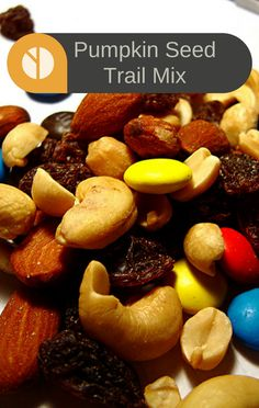 ... Ray Show, he shared the recipe for addicting Pumpkin Seed Trail Mix
