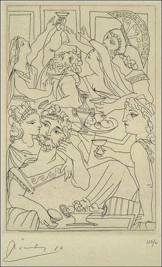 beatpie: LYSISTRATA BY PICASSO