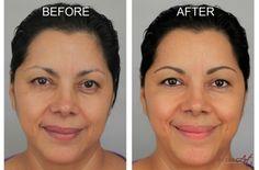 21 Best Semi-Permanent Eyebrow Hairstroke Tattoo images ...