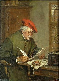 "Max Gaisser (1857-1922), ""The Notary Public"""