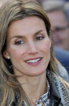 Princess Letizia - Spanish Prince Felipe and Letizia Attend 'Siro' Group Opening in Segovia