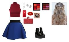 """""""Untitled #129"""" by anafasie on Polyvore featuring FAUSTO PUGLISI, Pilot, Edie Parker, Chanel, Lime Crime and NYX"""