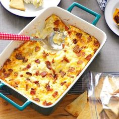 Lemony Bacon-Artichoke Dip Recipe- Recipes  Move over, spinach-artichoke dip. Bacon adds an extra layer of smokiness to this fabulous recipe. And you might want to double it-we never any leftovers. Heidi Jobe, Carrollton, Georgia