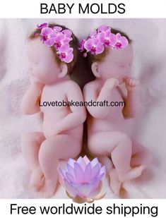 How to make a polymer clay baby babymould craftsytutorial dollmold dollmould babysiliconemold siliconebabymold siliconebabymould fondantbabies gumpastebabies clay Fondant Baby, Baby Cupcake, Fimo Tutorial, Doll Tutorial, Baby Boys, Twin Babies, Polymer Clay Fairy, Polymer Clay Dolls, Baby Cake Topper