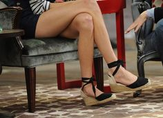 The perfect pair of espadrille wedges...