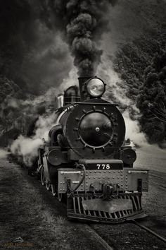 Locomotive Diesel, Steam Locomotive, Motor A Vapor, Train Tattoo, Train Drawing, Old Steam Train, Best Photo Background, Train Art, Train Pictures
