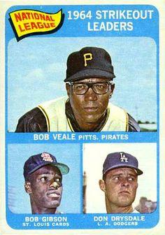 1965 Topps Don Drysdale / Bob Gibson / Bob Dodgers / Cardinals / Pirates NM Dodgers Baseball, Pirates Baseball, Baseball Gear, Sports Baseball, Baseball Players, Baseball Tickets, Nfl 49ers, Baseball Wall, Basketball