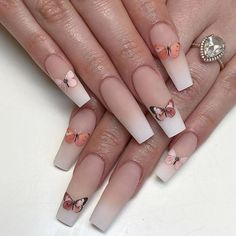 Manicure At Home- 50 Matte Coffin Nails Style Recommend - Latest Fashion Trends for Girls Coffin Nails Matte, Teal Nails, Stiletto Nails, Glitter Nails, Summer Acrylic Nails, Best Acrylic Nails, Summer Nails, Squoval Acrylic Nails, Coffin Nails Designs Summer