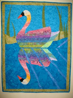 Serenity Art Quilt by JaneHicksQuilts on Etsy, $300.00
