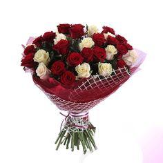 Артикул: 035-141 Состав букета: 45 роз белого и красного цвета, оформление Размер: Высота букета 60 см Роза: Выращенная в Украине http://rose.org.ua/bukety-iz-roz/1236-speshu-k-tebe.html #букеты #букетроз #доставкацветов #RoseLife #flowers #SendFlowers #купитьрозы #заказатьрозы   #розыпоштучно #доставкацветовкиев #доставкацветовукраина #срочнаядоставка #заказатьрозыкиев