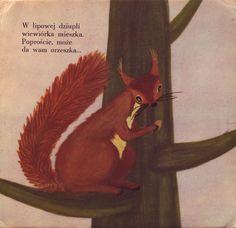 Zdzislaw Witwicki, illus. for Kto w lesie mieszka by Czeslaw Janczarski (Poland, 1958)
