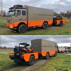 Diy Camper, Truck Camper, Camper Trailers, Campers, Volvo Trucks, Pickup Trucks, Get Home Bag, Overland Trailer, Bug Out Vehicle