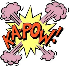 Flixprint RETRO COMIC BOOK POP ART KAPOW CARTOON WALLPAPER MADE TO ...