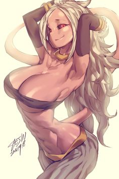 Android 21 from Dragon Ball FighterZ by Saejin Oh @ sae-jin-oh.tumblr.com - More at https://pinterest.com/supergirlsart #dragonballfighterz #dragonball #dbf #dbz #dbzf #fighters #z #ドラゴンボール #ファイターズ #android21 #android #21 #人造人間21号 #21号  #hot #sexy #anime #manga #girl #fanart #art #majin