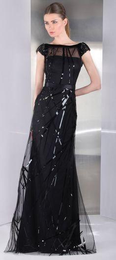 f3c0db151764 Tony Ward 2013 Spitze, Kleidung, Schöne Kleider, Glamouröse Abendkleider,  Schwarze Abendkleider,