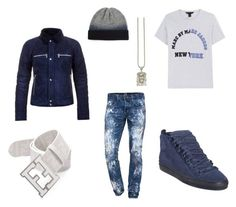 Walking Lick by mingy97 on Polyvore featuring polyvore, fashion, style, Fendi, Balmain, Marc by Marc Jacobs, PRPS, Acne Studios, Balenciaga and clothing