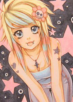 No39 - Emo Girl by ~KishiShiotani