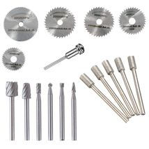 uxcell Carbide Burrs Single Cut Rotary Burrs File Pointed Tree Shape Cutting Burrs 1//8 Shank 1//4 Head for Die Grinder Bits 2pcs