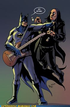 Batman and Ozzy Osbourne by Axel Medellin Machain Batman Vs, Batman Versus, Ozzy Osbourne, Rock N Roll, Dc Comics, Tv Movie, Comic Art, Comic Books, Spider Man 2