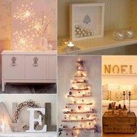 5 Tips voor sfeervolle kerstversiering wanneer je niet zoveel ruimte hebt Christmas Decorations, Holiday Decor, Mistletoe, Diy Room Decor, Home Decor, Baby Room, Xmas, Mirror, Decor Ideas