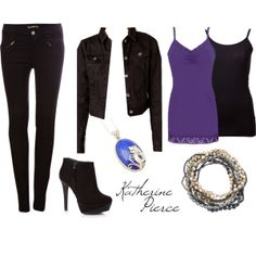 """Katherine Pierce"" by dana-rourke on Polyvore"