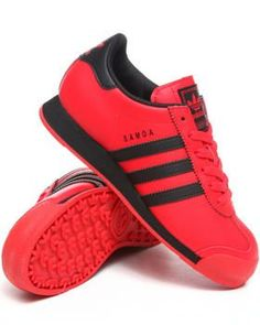 Nice red Adidas shoes