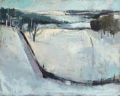 Josie Eastwood Fine Art:  Winter Landscape by Kate Corbett Winder