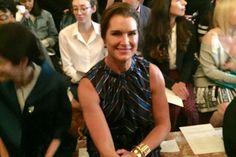 Brooke Shields on Calvin Klein Jeans Law & Order: SVU