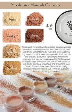 Look natural with mineral powder. Use as a highlight or contour. www.youniqueproducts.com/LCG