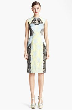 Erdem 'Brynn' Panelled Dress available at #Nordstrom