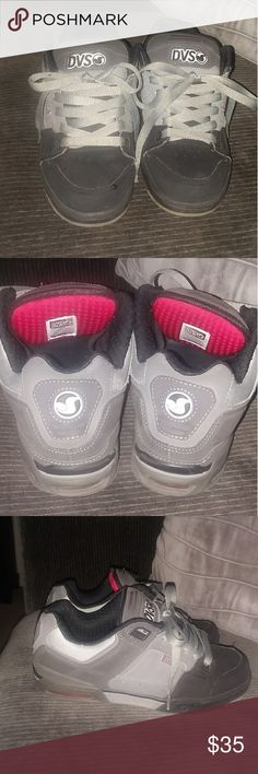 Mens Black and Gray DVS Skate Shoes No signs of wear and tear excellent condition. DVS Shoes