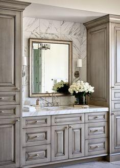 Luxury Bathroom Decorating Ideas With Backsplash Design Bad Inspiration, Bathroom Inspiration, Modern Bathroom Design, Bathroom Interior Design, Contemporary Bathrooms, Bathroom Designs, Kitchen Interior, Interior Design Minimalist, Diy Bathroom Decor