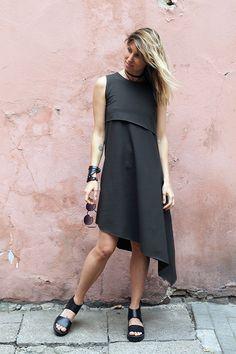 žalia suknelė Mode Style, Minimalist Fashion, Green Dress, Knit Dress, Diana, Midi Skirt, Style Inspiration, Knitting, Womens Fashion