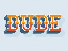 visualgraphic:  Dude by David Baratta