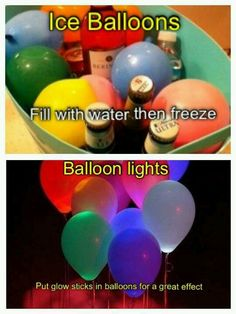 A fun idea for something different at a birthday party or any kind of party