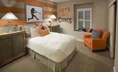 New Homes Roseville by Lennar | Brittany   San Francisco Giants room