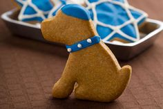 "Pet Present Extravaganza: Hanukkah Treats As S told us last month, ""I think all dogs are Jewish. Because they like to celebrate. Hanukkah Crafts, Hanukkah Food, Hanukkah Decorations, Christmas Hanukkah, Hannukah, Christmas Dog, Dog Christmas Presents, Dog Presents, Happy Kwanzaa"