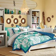 I love the Stuff-Your-Stuff Platform Bed System (Bed, Towers, Shelves + Desk) on pbteen.com-yep-a-roodies!!!
