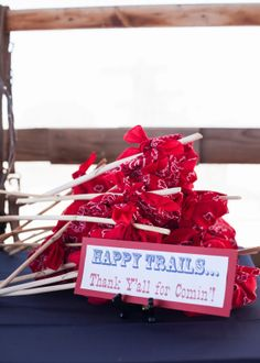 Savvy Styled Sessions & Events: Half Birthday at the Ranch! cowboy favors @Beth Obermeyer - Lizzie Bee Photography