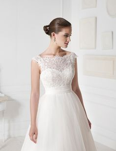 """Viena"" wedding dress by Novia D'Art, 2013 Collections. www.noviadart.com"