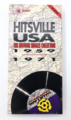 Hitsville USA The Motown Singles Collection 1959-1971 4 CD Set