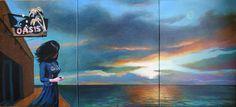 "Saatchi Art Artist Geoffrey Greene; Painting, ""No Signal at the Oasis - SOLD on Saatchi"" #art"