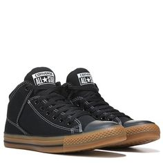 Converse Chuck Taylor All Star High Street Mid Top Sneaker Black/Gum